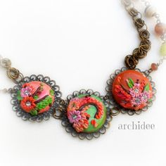 POLYMER CLAY | CABOCHON & CREATIONS UPDATE