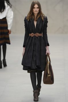 Burberry Prorsum. Love this coat.