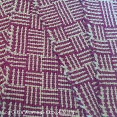 How to Weave the Log Cabin Pattern