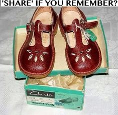 As a kid I thought these were at least better than saddle shoes!