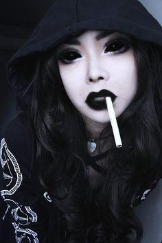 Wylona Hayashi #Gothic #Sexy