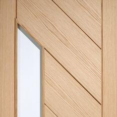 Door and Frame Kit - Monza Oak Door - Frosted Glass Home Door Design, Class Door, Door Fittings, Safe Glass, Architrave, Door Sets, Oak Doors, Close Image, White Oak