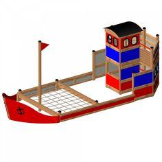 Lars Laj | Statek na plac zabaw dla dzieci