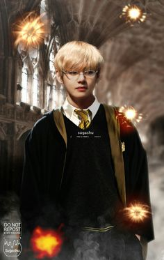 Looks like if Taehyung was in Harry Potter
