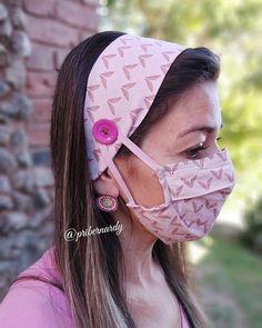 Easy Face Masks, Diy Face Mask, Braided Cornrow Hairstyles, Artisanats Denim, Diy Fabric Jewellery, Mouth Mask Design, Ideias Fashion, Diy Fashion, Crochet Panda