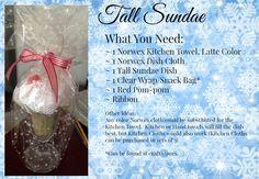 Tall Sundae Norwex Christmas Gift Idea Judy Grinder Independent Norwex Consultant www.judyg.norwex.biz