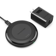 RAVPower iPhone 8 8 Plus X Fast Wireless Chargers QI + QC 3.0 Adapter