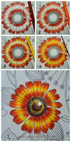 26 ideas for flowers garden drawing adult coloring Coloring Tips, Adult Coloring, Coloring Books, Coloring Pages, Secret Garden Coloring Book, Colored Pencil Tutorial, Colored Pencil Techniques, Johanna Basford Secret Garden, Garden Drawing