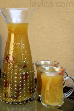 Naranjillazo: an Ecuadorian warm spiced drink made with naranjillas