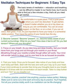 methods meditation