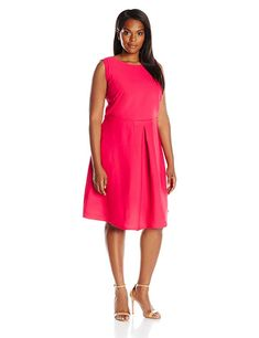 3d10891baf6 Looking for Julia Jordan Women s Plus Size Fit Flare Dress Pin Tuck Wiast    Check out our picks for the Julia Jordan Women s Plus Size Fit Flare Dress  Pin ...