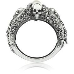 Skull ring.  I Want this for my 32nd Birthday.