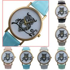 Owl Watches Women Dress Watch - Save 50% OFF!   Free Shipping