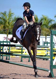 Lillie Keenan during the George H Morriz Horsemastership Training