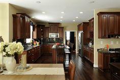 Massive kitchen area! #ModelHome