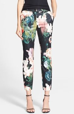 Ted Baker London 'Opulent Bloom' Trousers available at #Nordstrom  $225