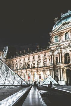 The Louvre, Paris France •Woolcott•