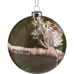 Realtree Color Camo Christmas Ornaments 4-Pack #Realtreecamo