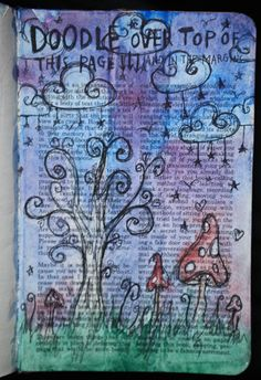 Wreck This Journal, via Flickr. keri smith