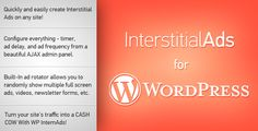 Discount Deals Interstitial Ads for WordPresstoday price drop and special promotion. Get The best buy