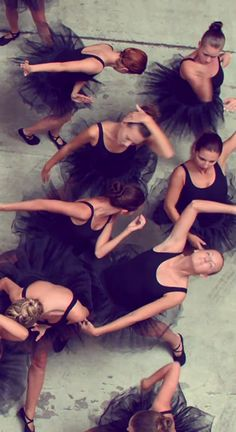 "Black Ballet Dancers in the video ""Runaway"", by Kanye West"