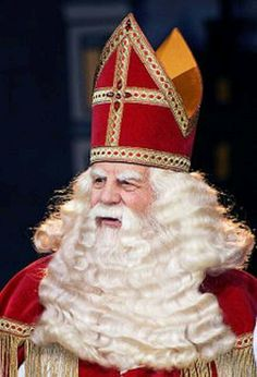 Sinterklaas lives in Spain, and every year he visits the Netherlands by boat. Dutch parents start to lie to their children when they are at a very young age. Someone thought it was funny to let young children believe in a man who rides his horse over the rooftops to bring presents to each child. The parents could use this as an scaring argument to improve the behavior of the child, only sweet children would receive a present, bad children have to join his workforce in Spain.