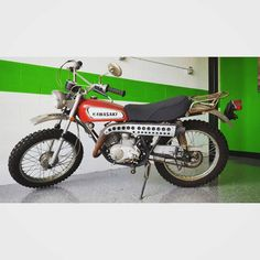 KAWASAKI 1971 F5 350 BIGHORN FENDER DECALS GRAPHICS