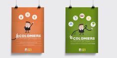 Projet : Campagne Client : Ville de Colomiers Agence : B!rds communication  #affiche #éco #design #poster  #graphicdesign #illustration #birds #agenda21