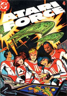 Atari Force #4 volume one