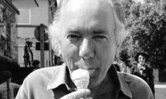 Thomas Bernhard mangia il gelato