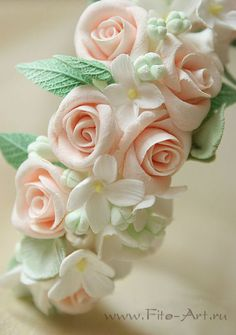 Wedding band with roses. - Fito-Art.ru