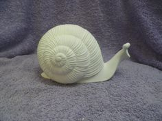 Duncan 126A Large Snail  Bisque Ready to Paint by BnSCeramics