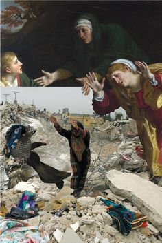 In the Presence of the Holy See: Repainting the Holy Land - Palestinian Museum exhibit 2014