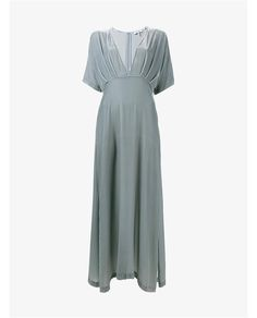 GANNI | Hayden Velvet Maxi Dress