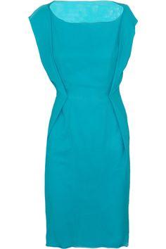 Roksanda Ilincic Austell textured-silk dress - 50% Off Now at THE OUTNET