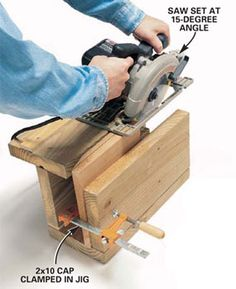 Deck Building tips and   tricks, Cutting the cap  ***Repinned by Normoe, the Backyard Guy (#1 backyardguy on Earth) Follow us on; http://twitter.com/backyardguy
