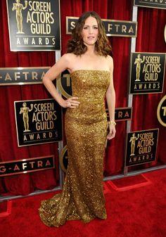 SAG Awards Red Carpet 2013 - Jennifer Garner in Oscar de la Renta