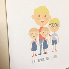 This special 'best+friends' print of these cute patootie #siblings hangs in Gunnedah, NSW