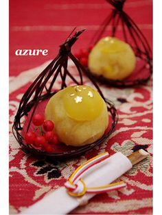Japanese Chestnut Sweets 栗きんとん