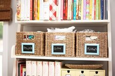 labels- dollar store frames, paint glass with chalkboard paint