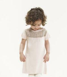 Pale Cloud cashmere dress :: 12M ONLY | Little Vida