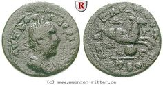 RITTER Kilikien, Anazarbos, Valerianus I., Diassarion, Capricorn #coins