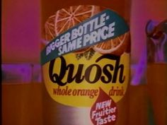Quosh Orange Drink Old Sweets, Vintage Sweets, Retro Sweets, 1980s Childhood, My Childhood Memories, 80s Food, Retro Recipes, 80s Kids, My Memory