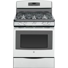 GE - Stainless Steel 30 Inch Free Standing Self-Cleaning Gas Range - JCGB650SEFSS - JCGB650SEFSS - Home Depot Canada