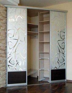 Bedroom Closet Decor Layout Ideas For 2019 Bedroom Green, Bedroom Colors, Bedroom Decor, Bedroom Neutral, Corner Wardrobe, Bedroom Wardrobe, Wardrobe Ideas, Black Bedroom Furniture, Closet Layout