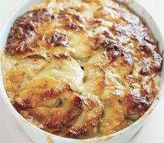 This tangy, oozy dish is loaded with Swiss cheese.