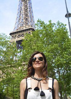 Paris & Shourouk... A sparkling love affair ✨❤️ #necklace avalaible…