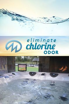 Never worry about smelly hot tub water with these maintenance tips. Keep spa water clean and refreshing with hot tub water care tips. Need more help? Balance hot tub water and get rid of the chlorine smell. Pool Chlorine, Spa Water, Hot Tubs, Smell Good, Rid, Outdoor Decor, Spa Baths, Whirlpool Bathtub