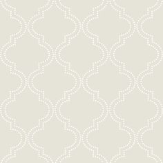 Brewster Quatrefoil Peel and Stick Wallpaper