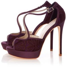 Karen Millen Lace Sandal ($50) ❤ liked on Polyvore